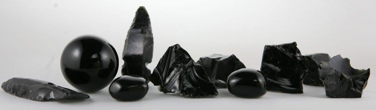 pierre Obsidienne noire