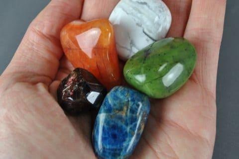 lithotherapie couleurs des pierres