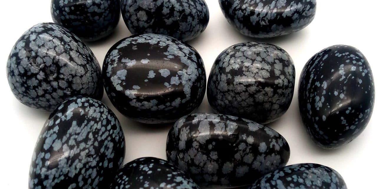 Pierre Obsidienne mouchetée