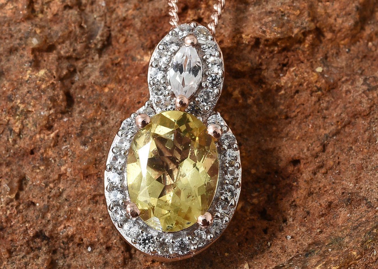pierre apatite jaune