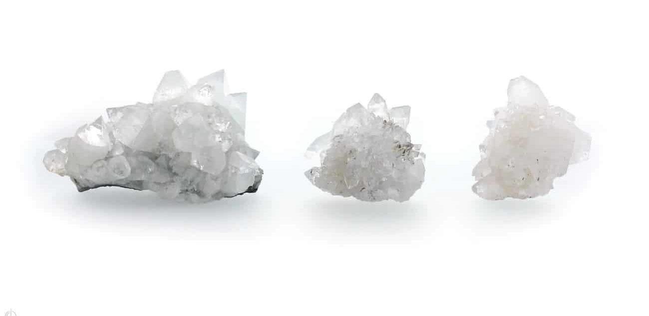 pierre apophyllite blanche
