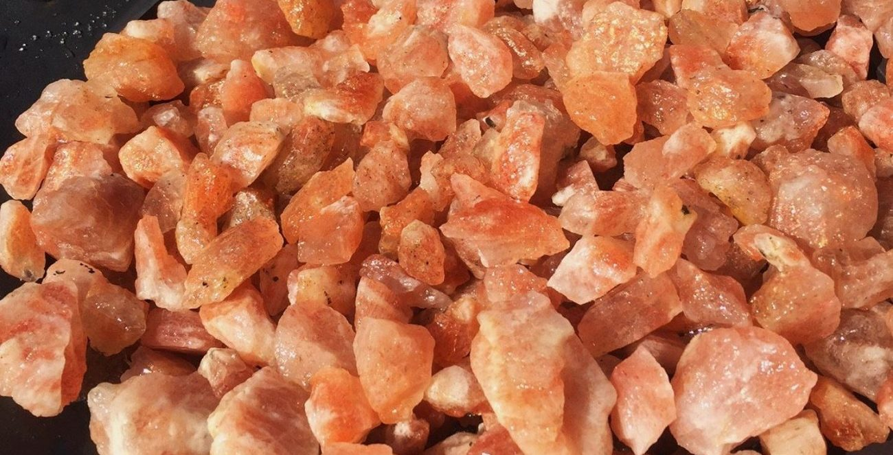 pierre de lune orange